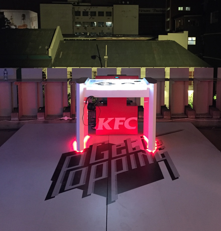 The KFC Popping Launchpad