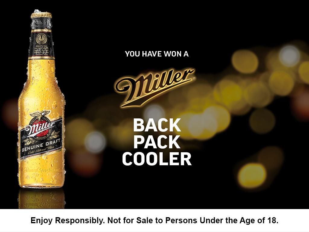Millers Genuine Draft Mobile Marketing App
