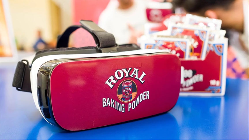 Royal Baking Powder Virtual Reality