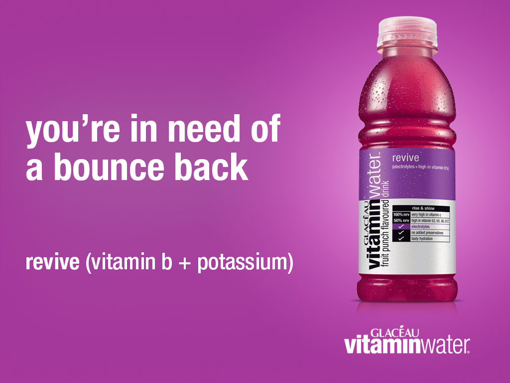 Vitamin Water mobile marketing app