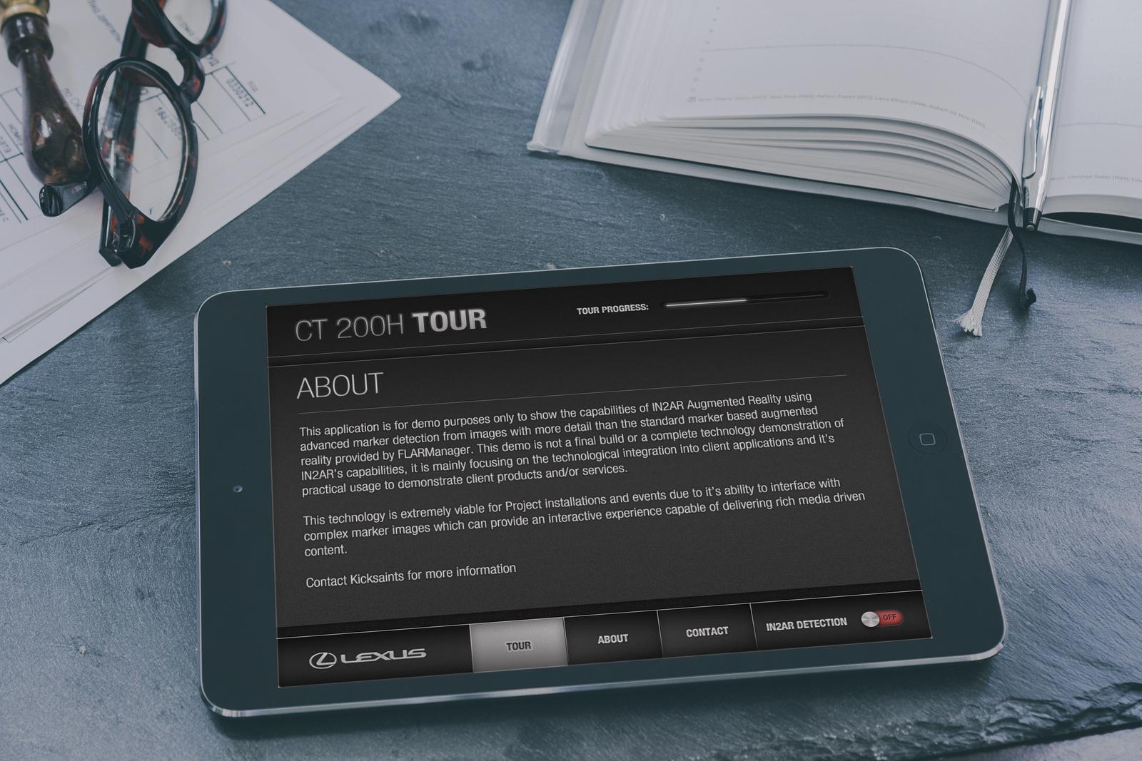 Lexus mobile sales assistant and marketing app